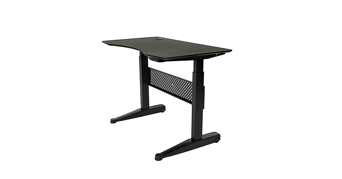 ApexDesk ALF47-BLACK 47x27-inches Movable Sit Standing Desk image