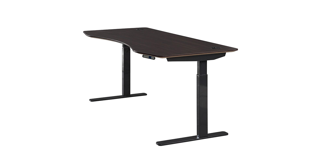 ApexDesk AX7133AW Elite Series 71 inches Electric Height Adjustable Standing Desk image