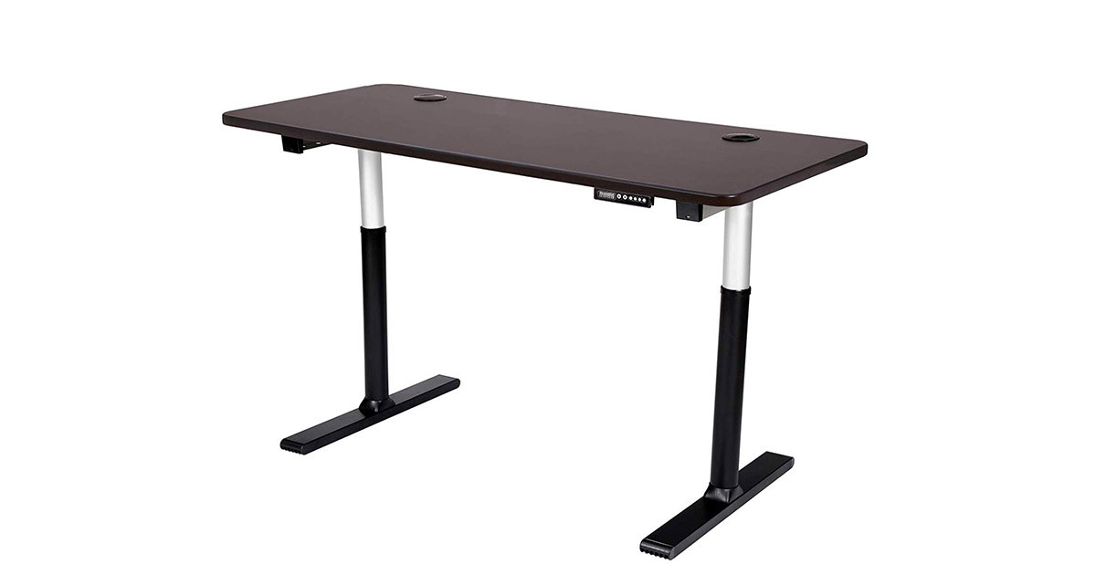 ApexDesk VT60ESS-M Vortex Series 60-inches Wide 6-Button Electric Height Adjustable Sit to Stand Desk image