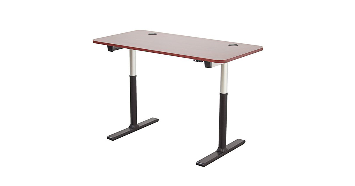 ApexDesk VT60NWC-S Vortex Series 60-inches 2-Button Electric Height Adjustable Sit to Stand Desk image