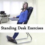 Exercises while standing at Desk Image