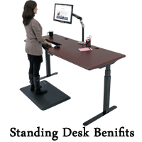 Benefits of Standing Desk | What is it good for? - Health