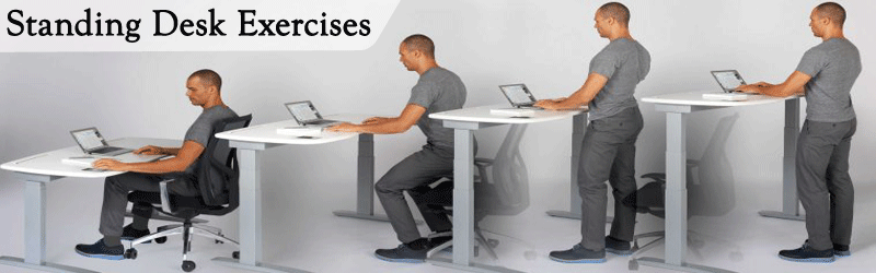 Standing Desk Exercises Image