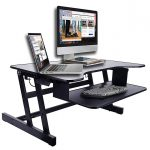 Rocelco ADR 32inch wide Height Adjustable Sit Standing Desk image