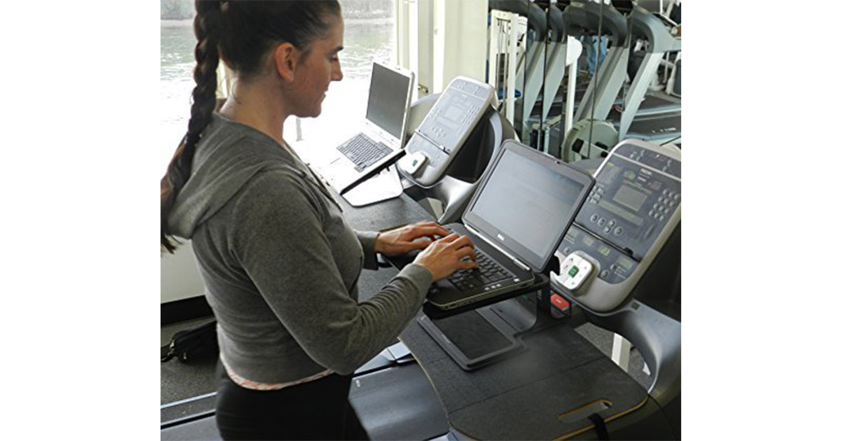 Dr McBabe s Fitness Products T1 Treadmill Desk image