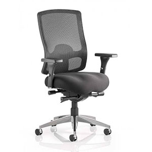 Ergonomic office chair with lumbar support image