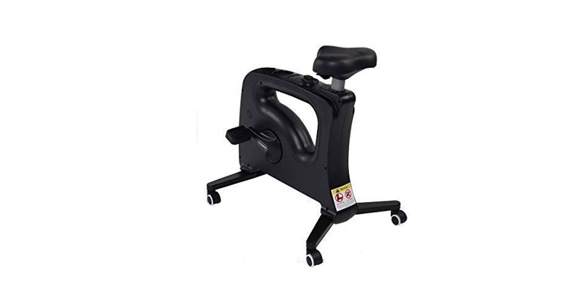 FLEXISPOT Home Office Standing Desk Exercise Bike Height Adjustable Cycle Deskcise Pro image
