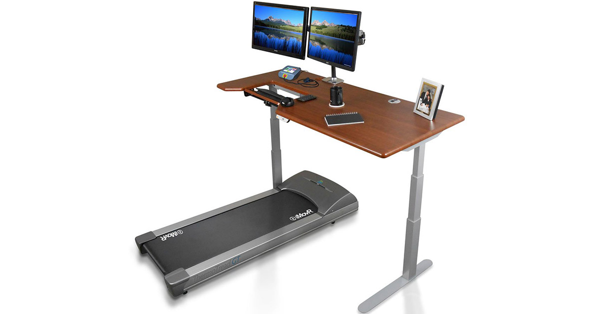 iMovR ThermoTread GT Desk Treadmill for Offices image
