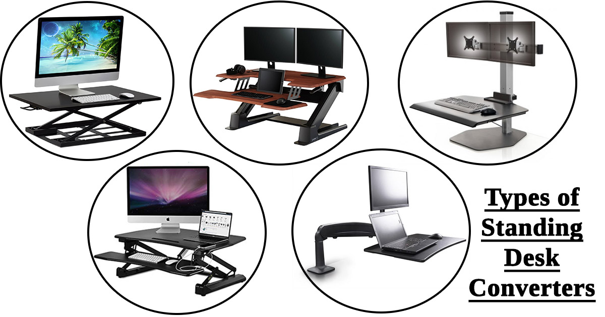 Types of Standing Desk Converters image