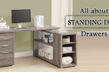What are Standing Desk Drawers? Types of Standing Desks with Drawer