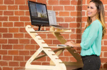 10 Easy-to-use Height Adjustable Standing Desks – Shift easily from Sitting to Standing Position