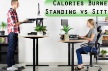 How much Calories Burned by Standing / Sitting? | About Standing Sitting Desk