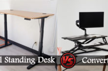 Sit Stand Converters VS. Complete Standing Desks