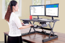 10 Top-Rated Dual Monitor Standing Desks that are best in holding your 2 monitors