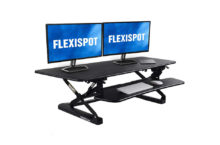 Flexispot M3B Standing Desk – Spacious enough for your Two Screens