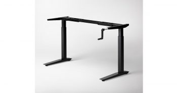 Jarvis Crank-Powered 42 x 14 x 10 inches Adjustable Height Sit Stand Desk image