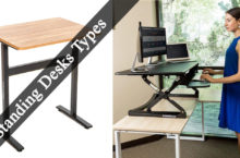 What are different types of Standing Desks?
