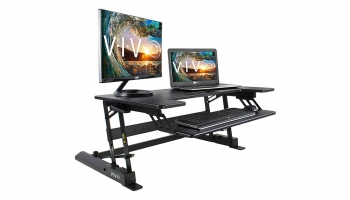 Vivo Desk-V000B Height Adjustable Standing Desk – Best Ergonomic solution at Low Cost